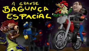A Grande Bagunça Espacial - The Big Space Mess cover
