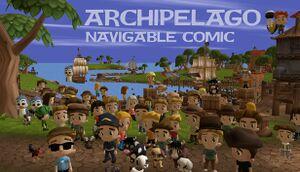 Archipelago: Navigable VR Comic cover