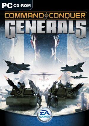 Command & Conquer: Generals cover