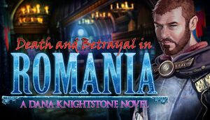 Death and Betrayal in Romania: A Dana Knightstone Novel cover
