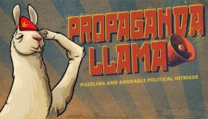 Propaganda Llama cover