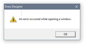 The dreaded error message that shows up whenever the player attempts to quit the game or bring up the options menu. See this GIF for an animated demo of the error.