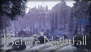Before Nightfall cover