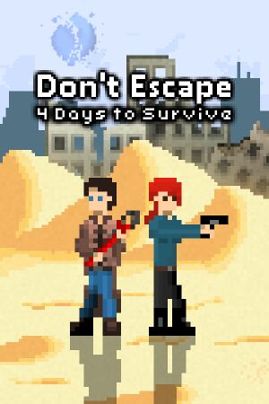 Don't Escape: 4 Days to Survive cover