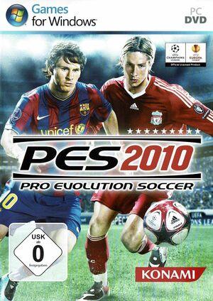Pro Evolution Soccer 2010 cover