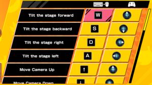 Keyboard bindings and gamepad settings (Main Game) 1/5