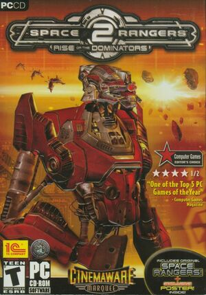 Space Rangers 2: Dominators cover