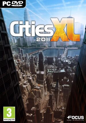 Cities XL 2011 cover