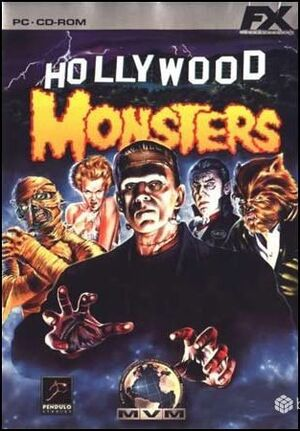 Hollywood Monsters cover