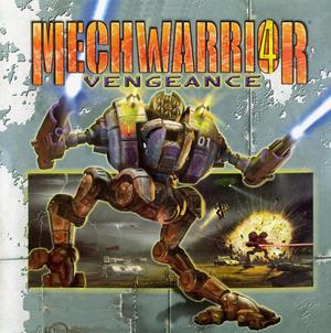 MechWarrior 4: Vengeance cover