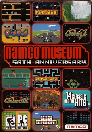 Namco Museum 50th Anniversary cover