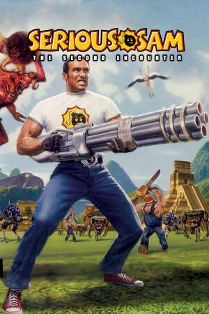 Serious Sam: The Second Encounter cover