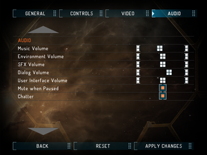 Launcher audio settings