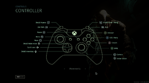 In-game Controller Layout