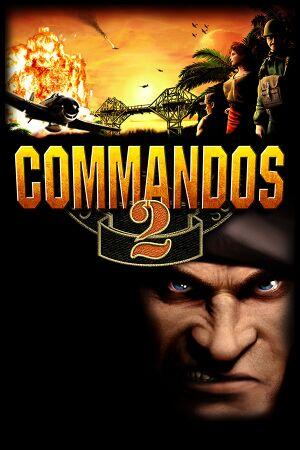 Commandos 2: Men of Courage cover