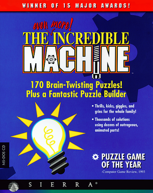 The Even More Incredible Machine cover