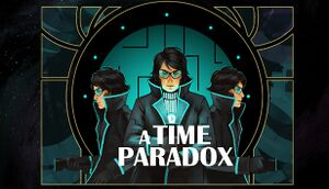 A Time Paradox cover