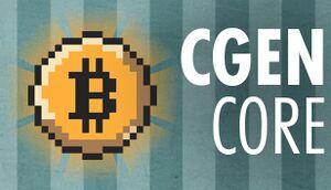 CGENcore cover