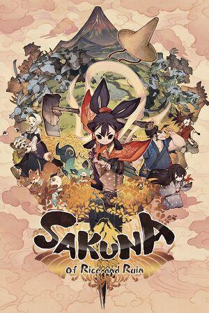 Sakuna: Of Rice and Ruin cover