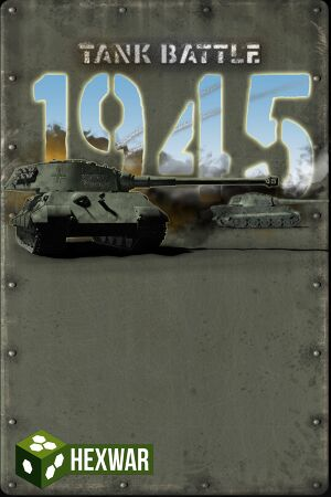 Tank Battle: 1945 cover