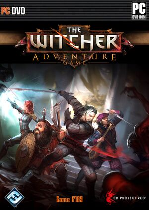 The Witcher Adventure Game cover