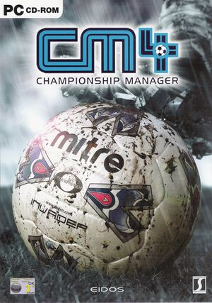 Championship Manager 4 cover