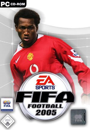 FIFA Football 2005 cover