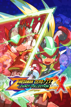 Mega Man Zero/ZX Legacy Collection cover
