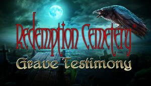 Redemption Cemetery: Grave Testimony cover