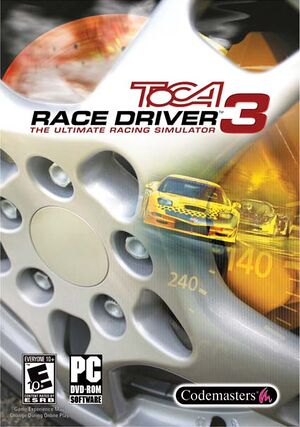TOCA Race Driver 3 cover