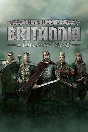 Total War Saga: Thrones of Britannia cover