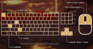 Battle controls (mouse and keyboard)
