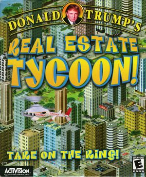 Donald Trump's Real Estate Tycoon cover