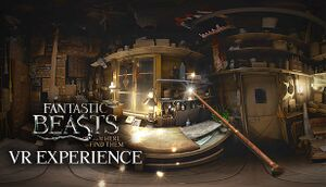 Fantastic Beasts and Where to Find Them VR Experience cover