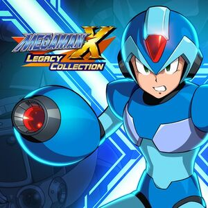 Mega Man X Legacy Collection cover
