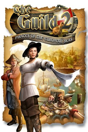The Guild II: Pirates of the European Seas cover
