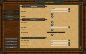 In-game video settings (2/2).