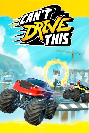 Can't Drive This cover