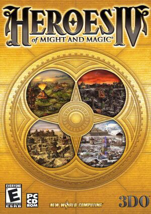 Heroes of Might and Magic IV cover