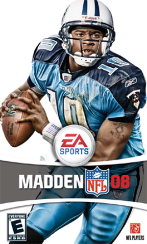 Madden NFL 08 cover