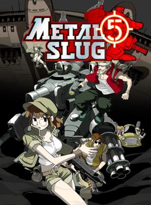 Metal Slug 5 cover