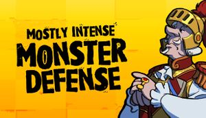 Mostly Intense Monster Defense cover