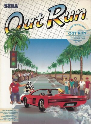 Out Run cover