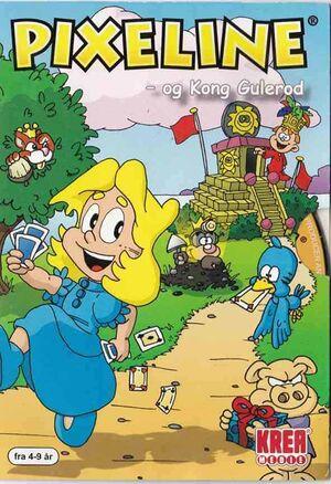 Pixeline: Kong Gulerod cover