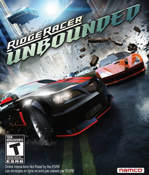 Ridge Racer Unbounded cover