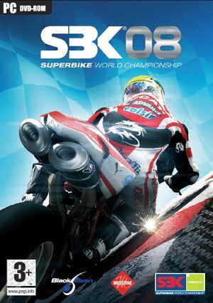 SBK-08: Superbike World Championship cover