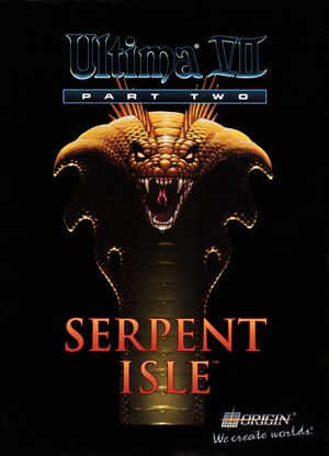 Ultima VII Part Two: Serpent Isle cover