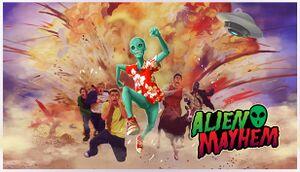 Alien Mayhem cover