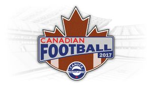 Canadian Football 2017 cover