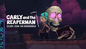 Carly and the Reaperman - Escape from the Underworld cover